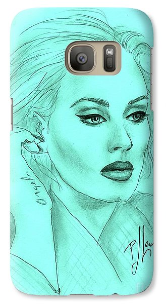 Adele Galaxy Case by P J Lewis