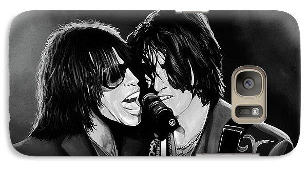 Aerosmith Toxic Twins Mixed Media Galaxy S7 Case by Paul Meijering