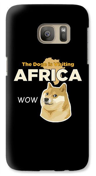 Africa Doge Galaxy S7 Case by Michael Jordan