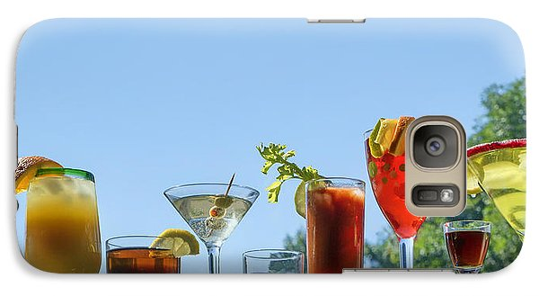 Alcoholic Beverages - Outdoor Bar Galaxy S7 Case by Nikolyn McDonald