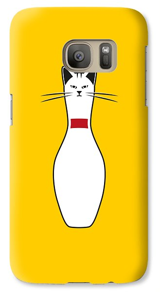 Alley Cat Galaxy S7 Case by Nicholas Ely