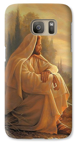 Alpha And Omega Galaxy Case by Greg Olsen