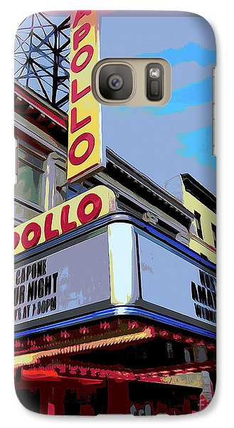 Amateur Night At The Apollo Galaxy Case by Ed Weidman