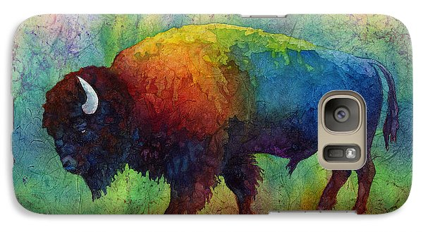 American Buffalo 6 Galaxy Case by Hailey E Herrera