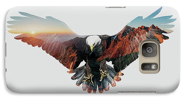 American Eagle Galaxy S7 Case by John Beckley