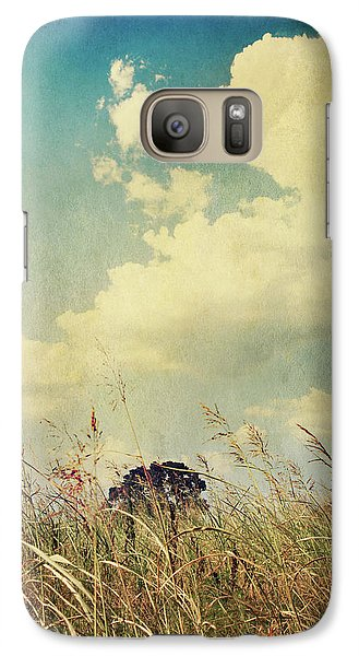 And The Livin's Easy Galaxy S7 Case by Laurie Search