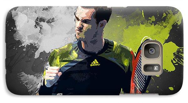 Andy Murray Galaxy S7 Case by Semih Yurdabak