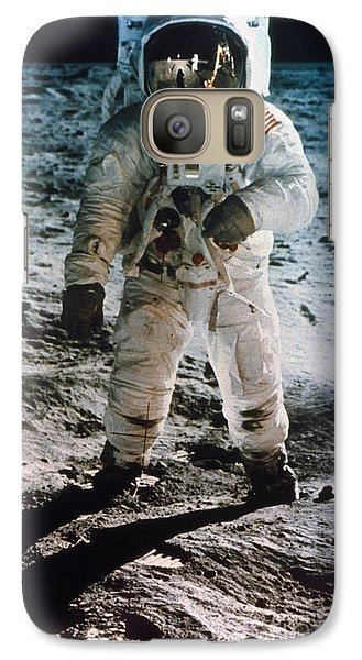 Apollo 11: Buzz Aldrin Galaxy Case by Granger