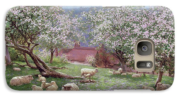 Appleblossom Galaxy Case by William Biscombe Gardner