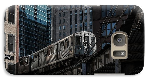 Around The Corner, Chicago Galaxy Case by Reinier Snijders