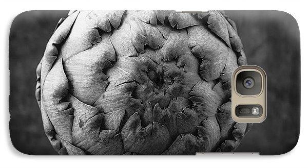 Artichoke Black And White Still Life Two Galaxy Case by Edward Fielding