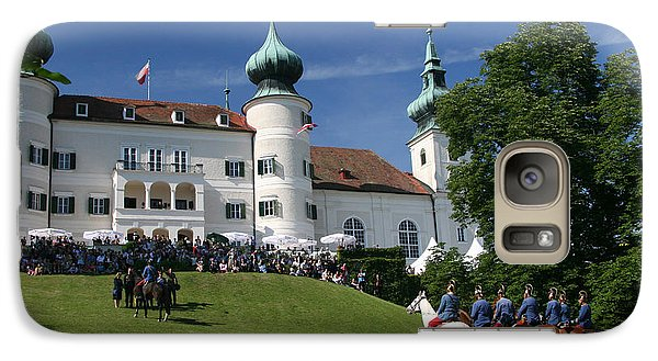Galaxy Case featuring the photograph Artstetten Castle In June by Travel Pics