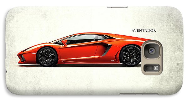 Lamborghini Aventador Galaxy S7 Case by Mark Rogan