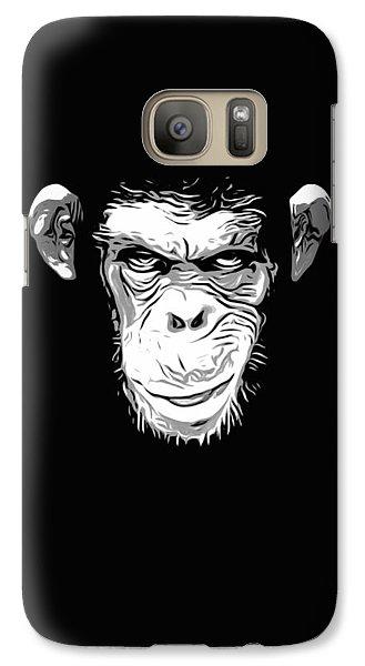 Evil Monkey Galaxy Case by Nicklas Gustafsson