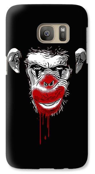 Evil Monkey Clown Galaxy Case by Nicklas Gustafsson