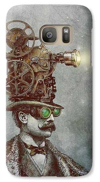 The Projectionist Galaxy Case by Eric Fan