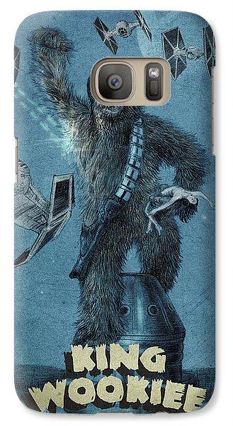 King Wookiee Galaxy S7 Case by Eric Fan