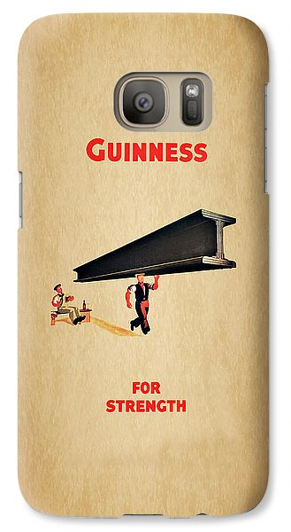 Guiness For Strength Galaxy S7 Case by Mark Rogan