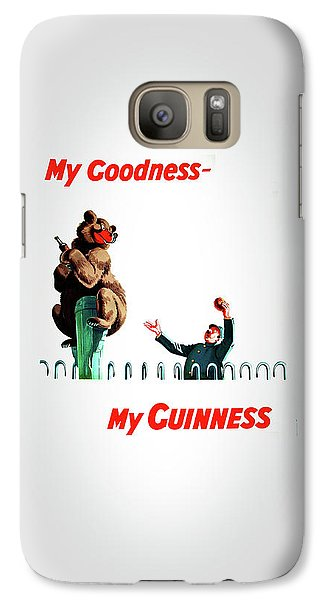 My Goodness My Guinness 2 Galaxy S7 Case by Mark Rogan