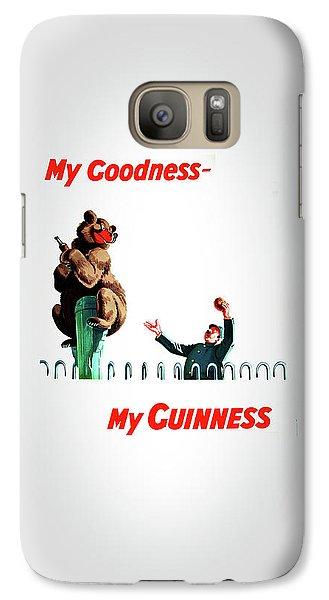 My Goodness My Guinness 2 Galaxy Case by Mark Rogan