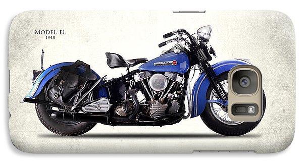 Harley-davidson El 1948 Galaxy S7 Case by Mark Rogan
