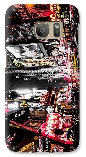 New York City Night II Galaxy Case by Nicklas Gustafsson