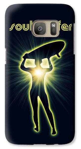 Soul Surfer Galaxy Case by Mark Ashkenazi
