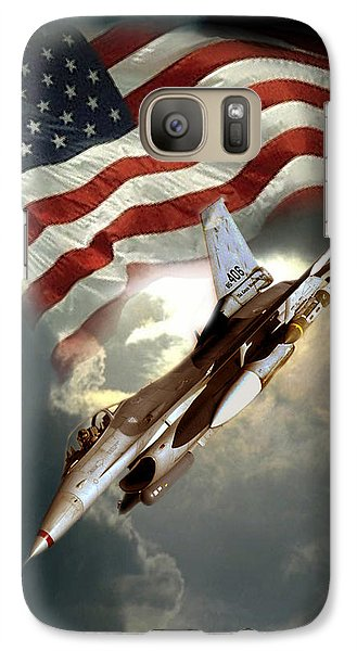 American Feedom  Galaxy S7 Case by Regina Femrite