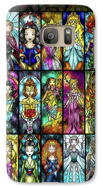The Princesses Galaxy Case by Mandie Manzano