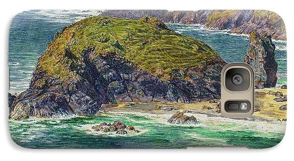 Asparagus Island Galaxy Case by William Holman Hunt