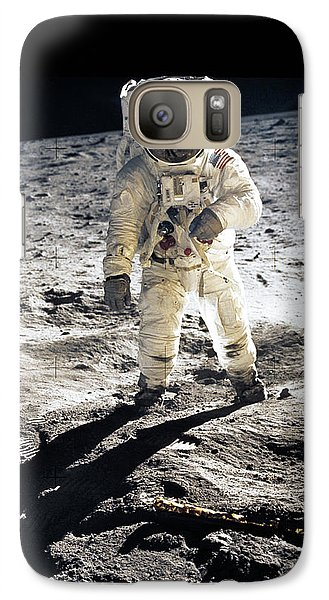 Astronaut Galaxy S7 Case by Photo Researchers
