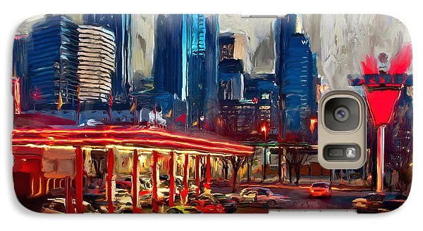 Atlanta Skyline 231 1 Galaxy S7 Case by Mawra Tahreem