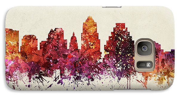 Austin Cityscape 09 Galaxy Case by Aged Pixel