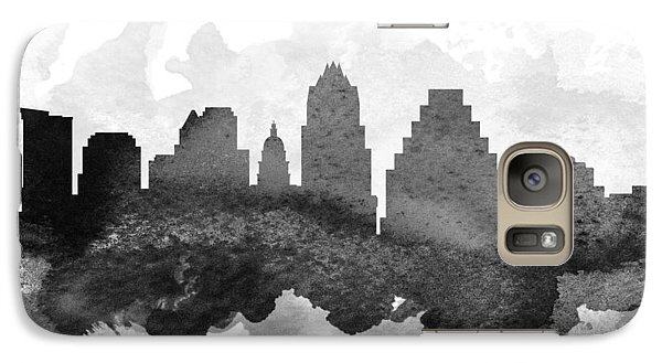 Austin Cityscape 11 Galaxy Case by Aged Pixel