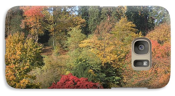 Galaxy Case featuring the photograph Autumn In Baden Baden by Travel Pics
