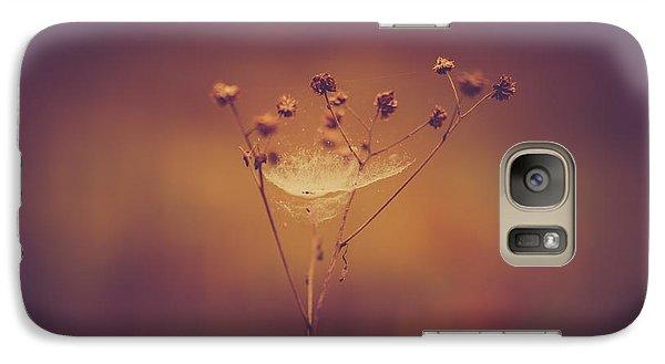 Autumn Web Galaxy S7 Case by Shane Holsclaw
