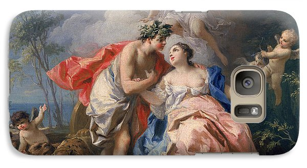 Bacchus And Ariadne Galaxy S7 Case by Jacopo Amigoni