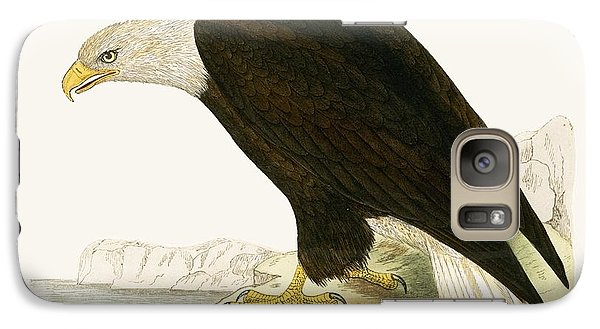 Bald Eagle Galaxy Case by English School