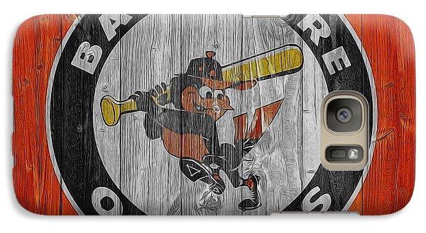 Baltimore Orioles Graphic Barn Door Galaxy Case by Dan Sproul
