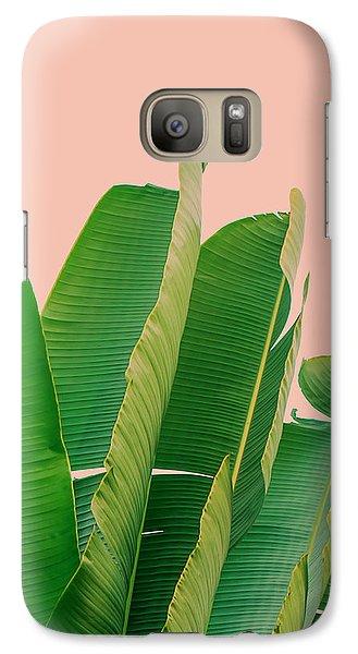 Banana Leaves Galaxy S7 Case by Rafael Farias