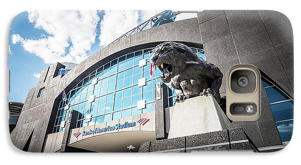 Bank Of America Stadium Carolina Panthers Photo Galaxy Case by Paul Velgos