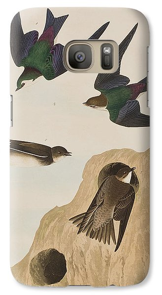 Bank Swallows Galaxy S7 Case by John James Audubon