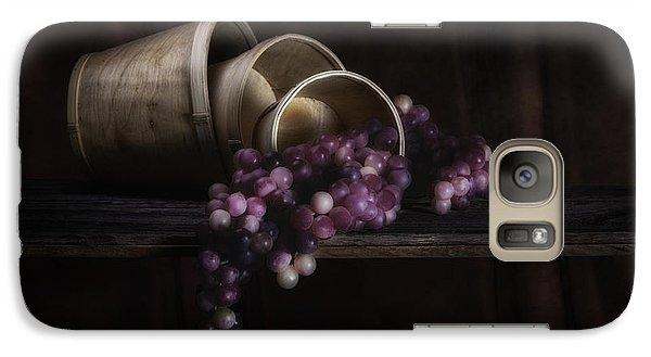 Basket Of Grapes Still Life Galaxy Case by Tom Mc Nemar