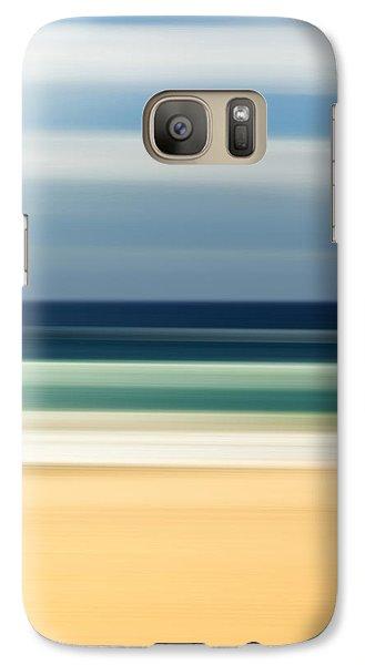 Beach Pastels Galaxy Case by Az Jackson