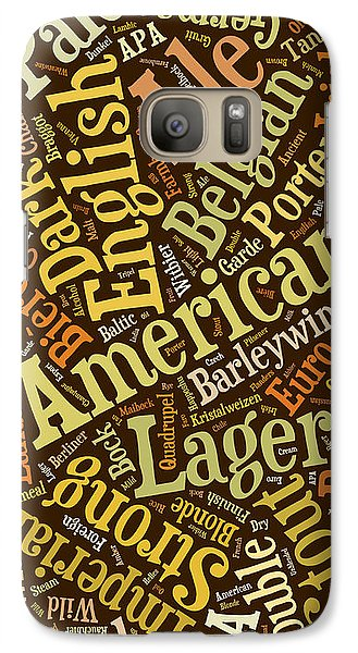 Beer Lover Cell Case Galaxy S7 Case by Edward Fielding
