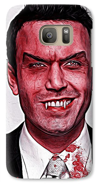 Ben Affleck Galaxy S7 Case by Gene Spino
