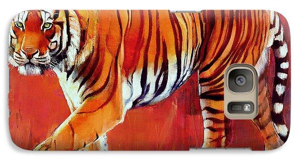 Bengal Tiger  Galaxy S7 Case by Mark Adlington