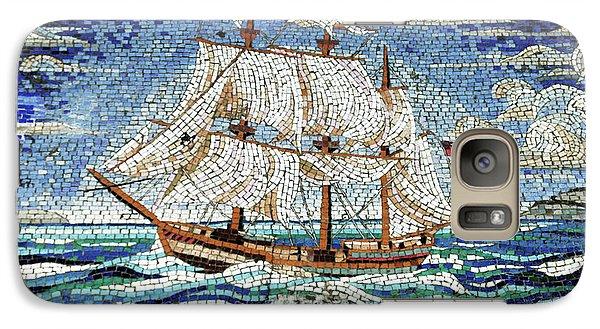 Bermuda Schooner Mosaic Galaxy Case by Sandy Taylor