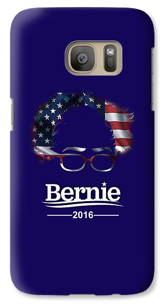 Bernie Sanders 2016 Galaxy Case by Marvin Blaine