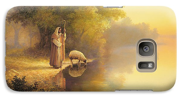 Beside Still Waters Galaxy Case by Greg Olsen